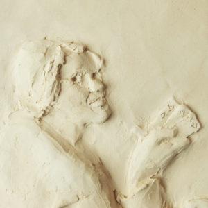 Oszust, rzeźbiony de La Tour, Maryna Szöllősi