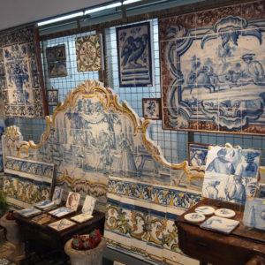 Sklep z azulejo