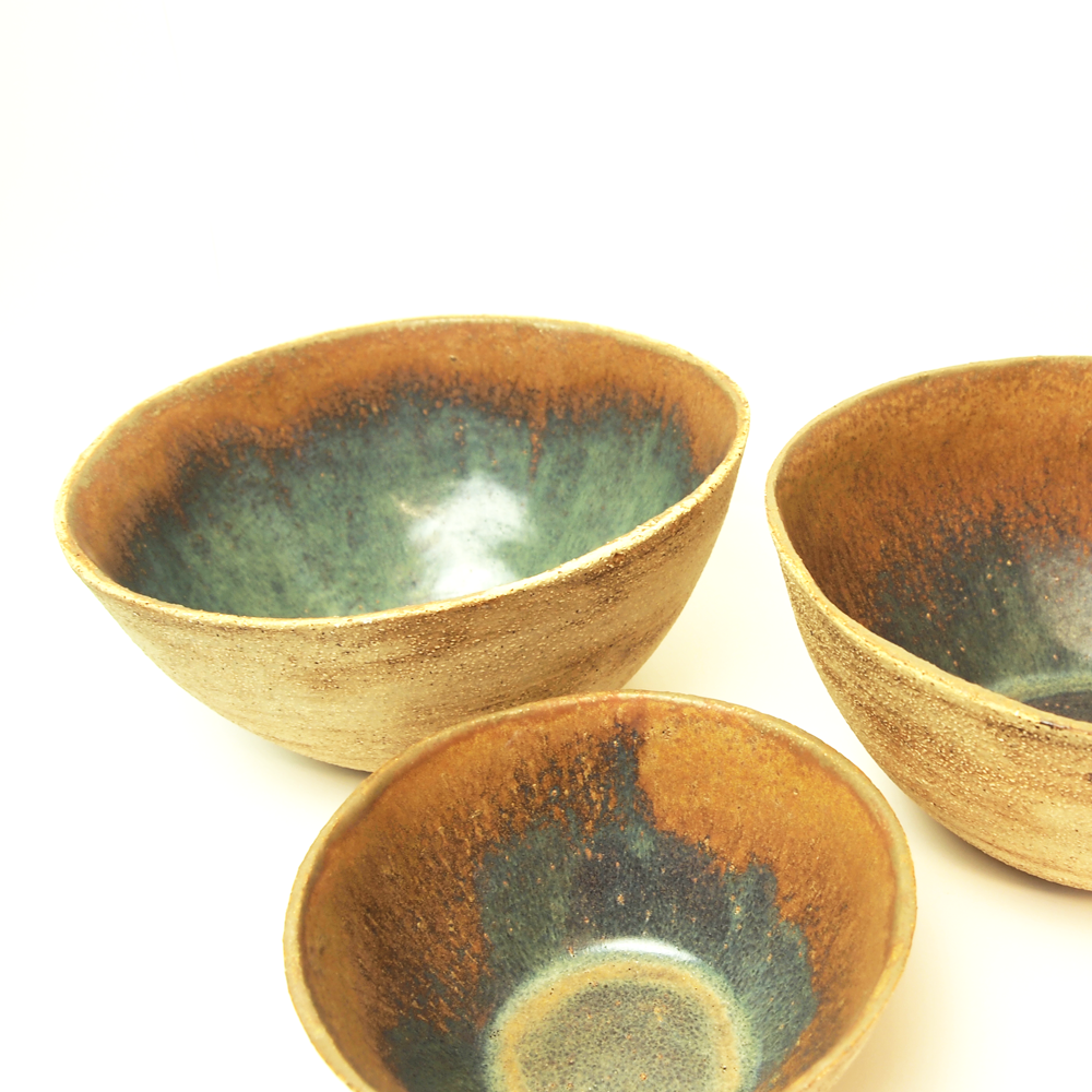 Fireclay bowls