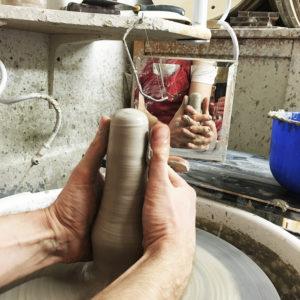 stożkowanie gliny